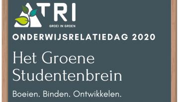 Programma TRI Onderwijsrelatiedag 2020 bekend